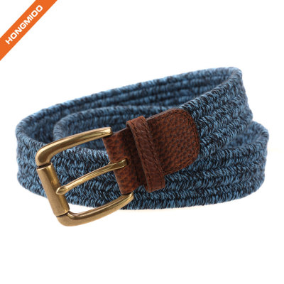 Hongmioo Pin Buckle Polyester Elastic Stretch Belt