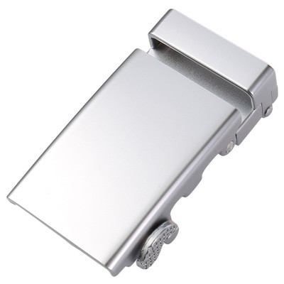 3.2CM Zink Alloy Continuously Automatic Male Leather Belt Buckle