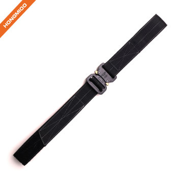 Hongmioo New Design Hidden Money Security Nylon Tactical Belt with Cobra Buckle