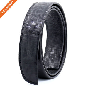 Hongmioo 3.5cm Wide Mens Genuine Ratchet Full Grain Lether Belt Strap
