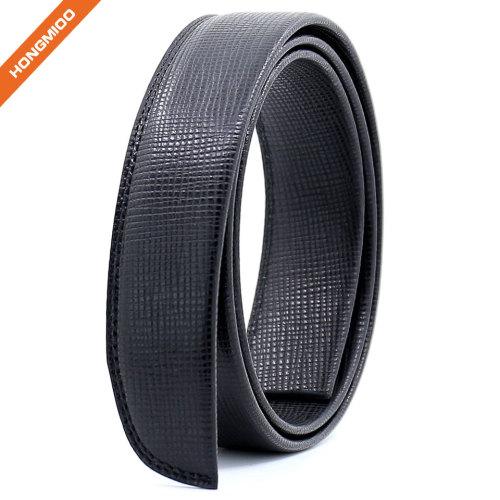 Hongmioo 3.5cm Wide Mens Genuine Ratchet Full Grain Lether Belt Strap