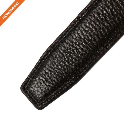 Hongmioo New High Quality Full Grain Leather Belt Strap without Buckle for Men
