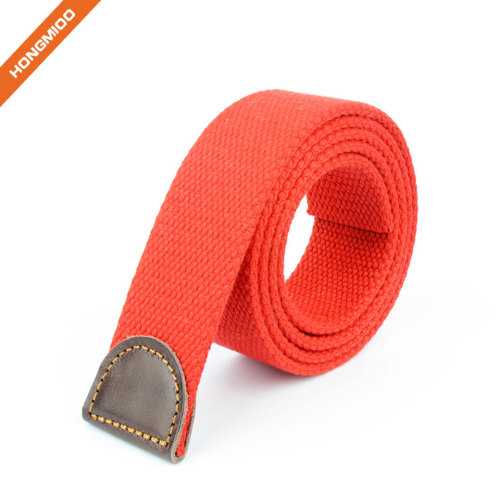 Hongmioo Fabric Webbing Belt Straps with No Buckle