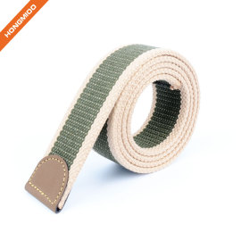 Hongmioo Mens New Custom Color Fabric Belt Strap