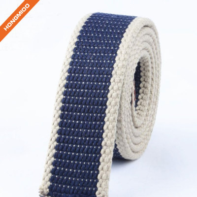 Hongmioo Custom Fabric Belt Straps for Men no Buckle