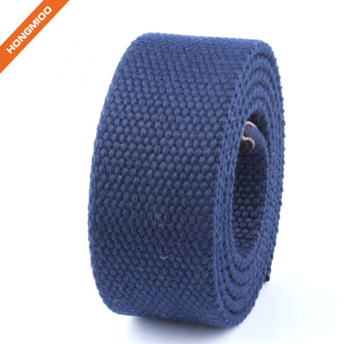 Hongmioo 5 Pure Color Fabric Belt Straps with No Buckle
