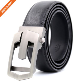 OEM ODM Eco-friendly No Animal Skin Vegan Mens New Automatic Buckle Ratchet Belt