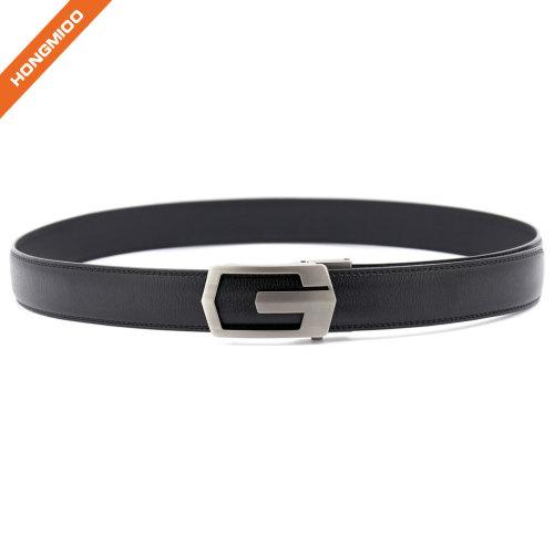 OEM ODM Eco-friendly No Animal Skin Vegan Mens New Automatic Buckle Ratchet Belt