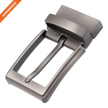 Zinc Alloy Material Reversible Buckle For Formal Belt