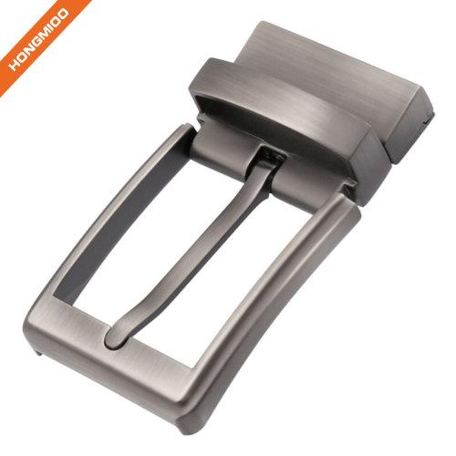 Reversible Clamp Belt Buckle Nickel Free Reversible Prong Buckle Zinc Alloy