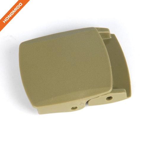 3.8CM Plastic Flat Belt Buckle for Unisex
