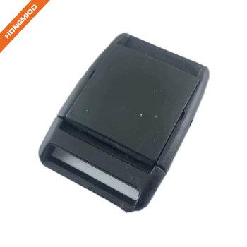 New Safety Black Flat Plastic Belt Buckle