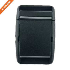 New Safety Black Flat Plastic Belt Buckle