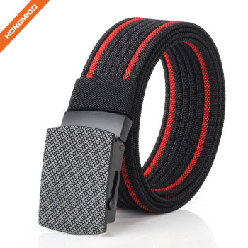 Nylon Military Tactical Men Belt Outdoor Canvas Webbing Web Belt 1.5
