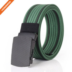 Outdoor Sport Durable Quality Nylon Custom Fabric Canvas Design Belt for Men and Women