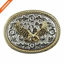 3D Engraving Design Solid Metal Western Cowboy Belt Buckle Men Women