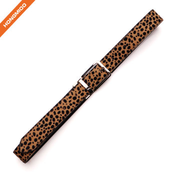 Womens Leopard Print Belts Cheetah Animal Print Belt for Jeans