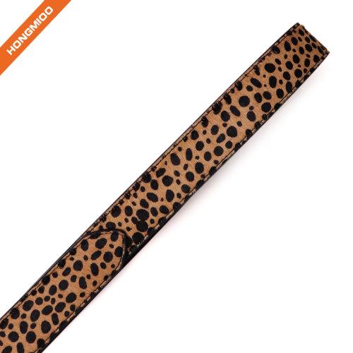 Womens Leopard Print Belts Cheetah Animal Print Belt for Jeans