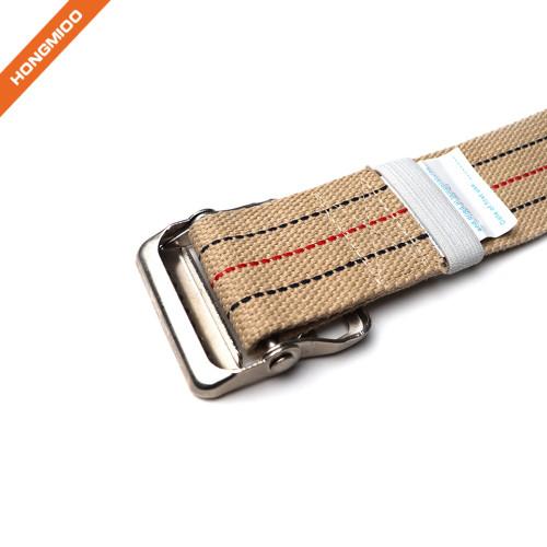 Gait Belt With Metal Buckle Heavy Duty Gait Transfer Belt For Patient Transfer