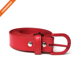 Women Leather Belt Womens Belt Ladies Belt For Jeans Pants Dress With Fashion Prong Buckle