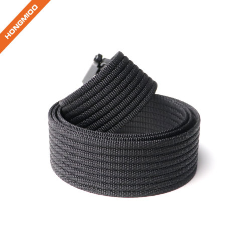 Tactical Belt  Nylon Webbing Waist Belt With Heavy-Duty Quick-Release Buckle