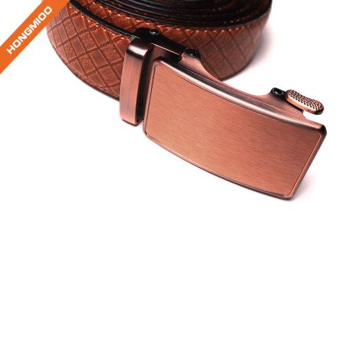 Italian Calfskin Leather Designer Golf and Dress Belt For Men