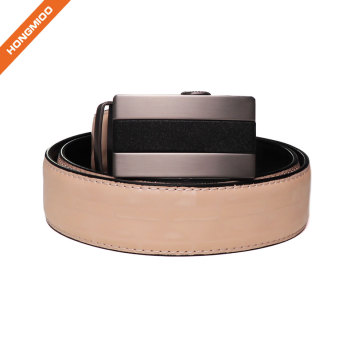 Genuine Leather Ratchet Dress Belt With Automatic Buckle Enclosed In An Elegant Gift Box