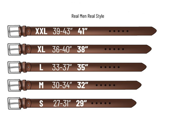 How to choose a belt size ?