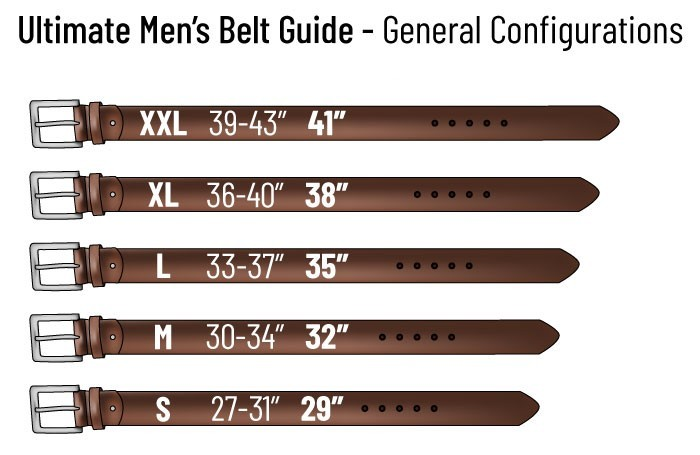 How to Wear a Belt (for Young Men)-----Selecting a Belt