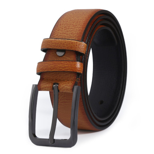 Elegant Men's Microfiber Leather Belt Business Casual Leisure Belt