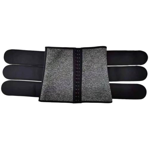 Mens Workout Waist Trainer Neoprene Corset Sauna Sweat Trimmer Cincher Slimming Belly with Belts