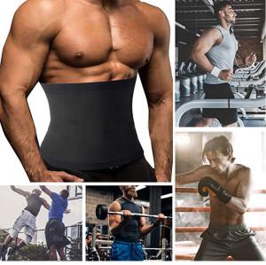 Sweat Shaper Premium Waist Trimmer for Men Waist Trainer Sauna Belt Sauna Slimming Belt