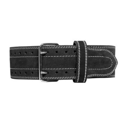 Power Lifting Belt Suede Leather Double Prong Power Belt Gym Bodybuilding 10 MM Thick Weightlifting Belt