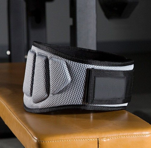 EVA Nylon Foam Core Weightlifting Fitness Powerlifitng Belt Lower Back Support Workout Waist Belt
