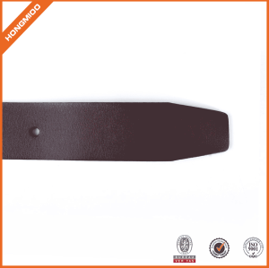 Italy Foft Vegetable Leather Belt With Brass Buckle For Jeans