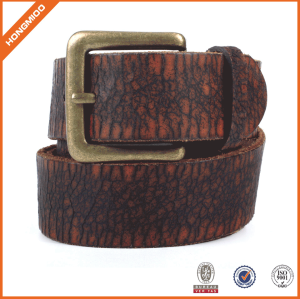 Top Quality Genuine Tan Leather Belt