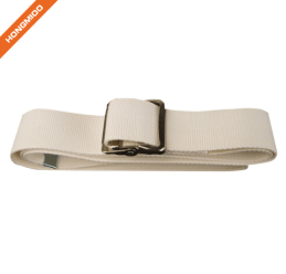 Metal Buckle Gait Belt - Adjustable Machine Washable Strong and Durable Cotton Material