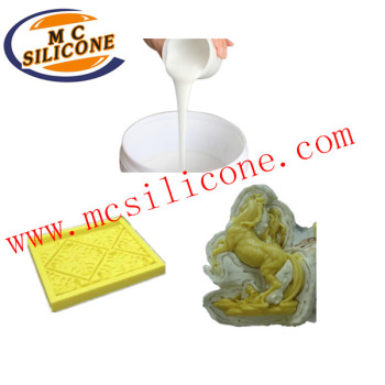 platinum cured liquid molding silicone for garden statue