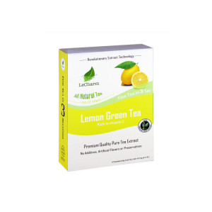 Full of Vitamins Healthy Lemon Green Tea Extract