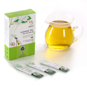 Instant Jasmine Green Tea for Refreshing
