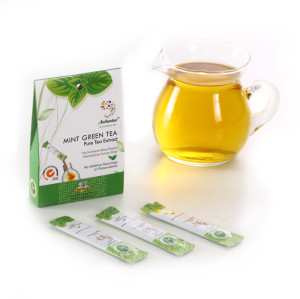 Refresh and Cool Herbal Mint Tea Extract
