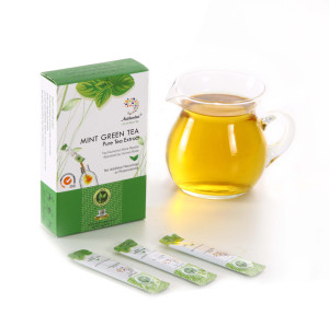 Pure Mint with Organic Green Tea Extract