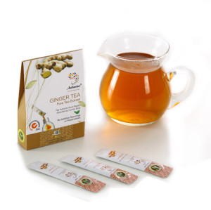 Strong Taste Instant Ginger Tea Extract with Crystalline Powder Style