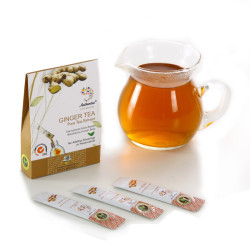 Instant Ginger Tea for Warming Body