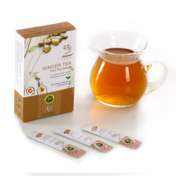 Ginger Green Tea Herbal Tea Extract