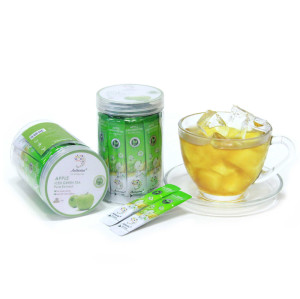 Pure Apple and Green Tea Leaf Extract with Iced Water Soluble