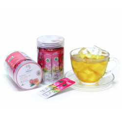 Trendy Tea Drink Peach Ice Green Tea Extract