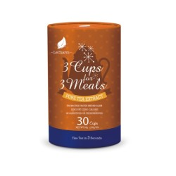 3 Cups for 3 Meals Tea Extract