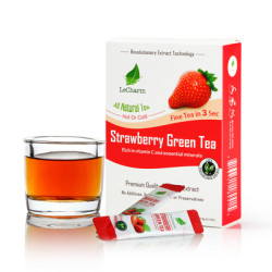 Healthy Fruit Tea Drink Strawberry Flavor