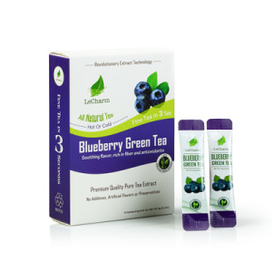 Fresh Fruit Tea Extract Blueberry Tea Drink Sugar-free